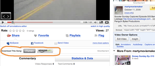 YouTube example Universal