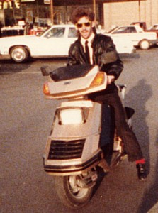 Karl and His Honda Elite